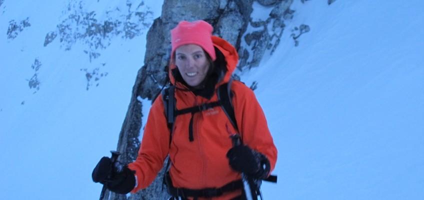 Dans les Alpes avec Sibylle